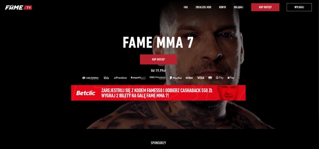 fame mma live stream free